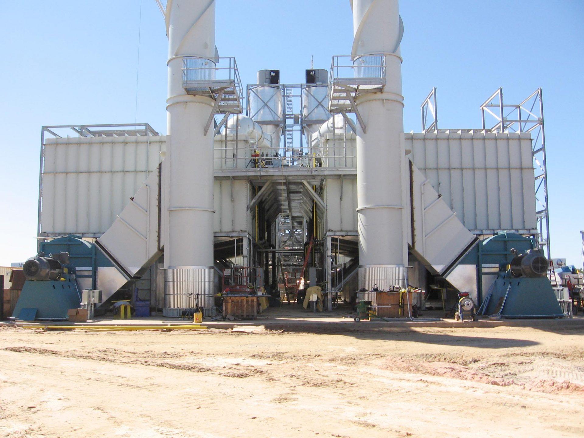 BCS - Wood Pellet Mill Process Fans 1