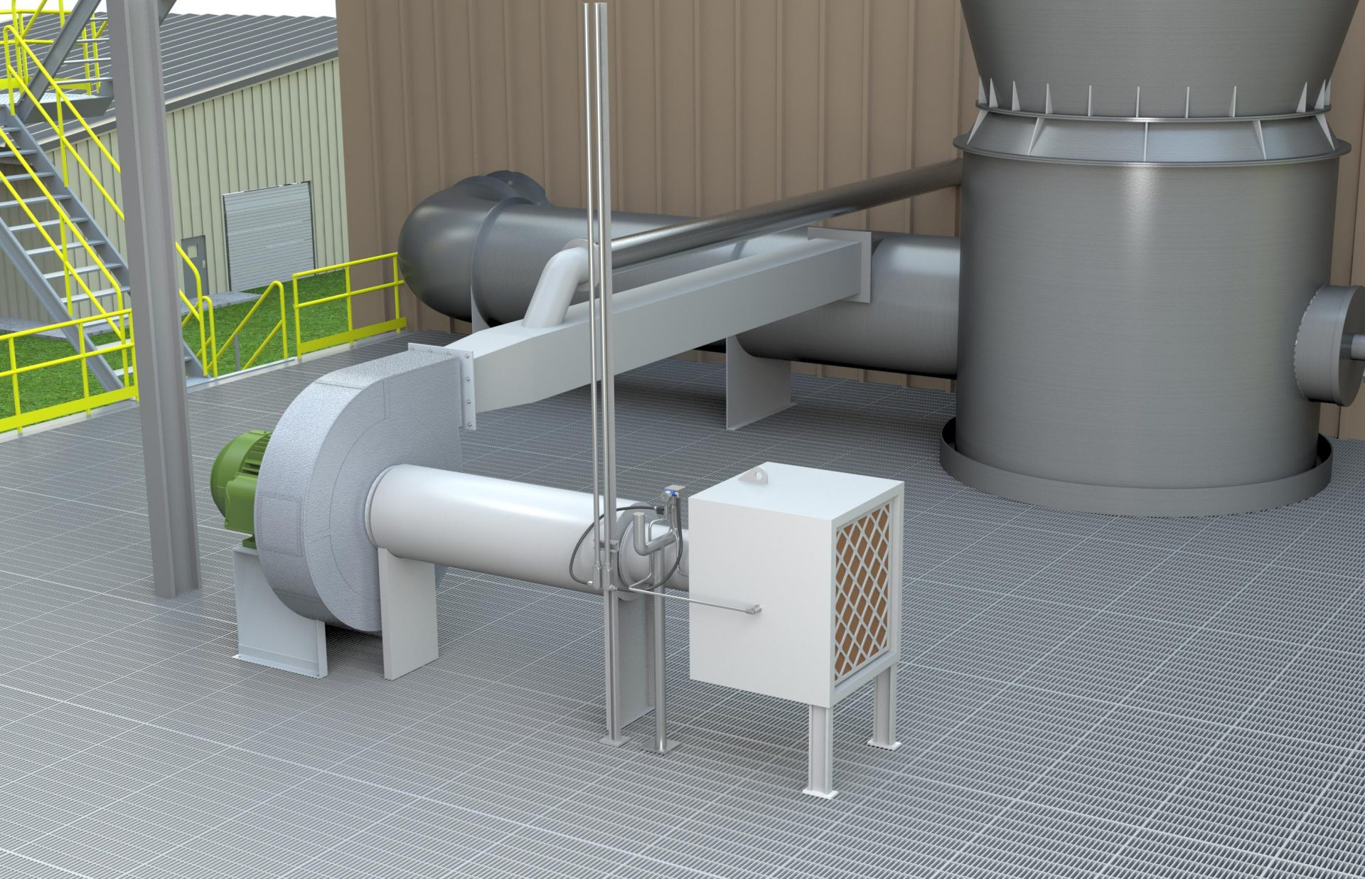 TBR Fluidizing Dryer