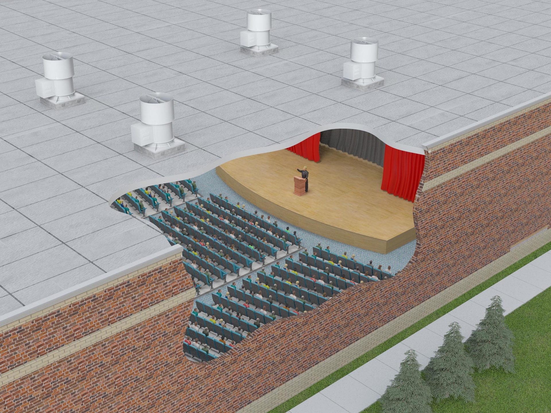 TUBSH 36 Auditorium (Application)
