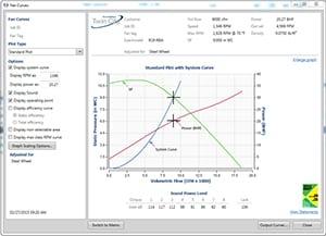 fan selection software twin city fan and blower Hunter Fan Switch Wiring Diagram fan selection software